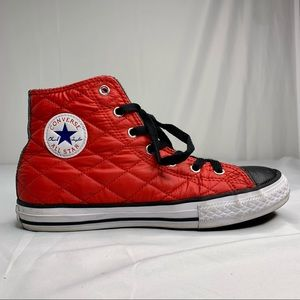 Chuck Taylor RARE Converse Quilted Red High Tops